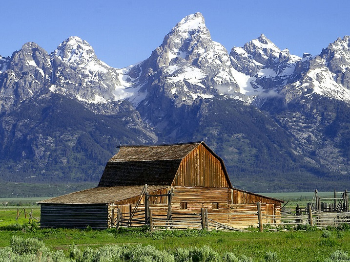 Parque Nacional Grand Teton, Wyoming/Jon Sullivan/Creative Commons