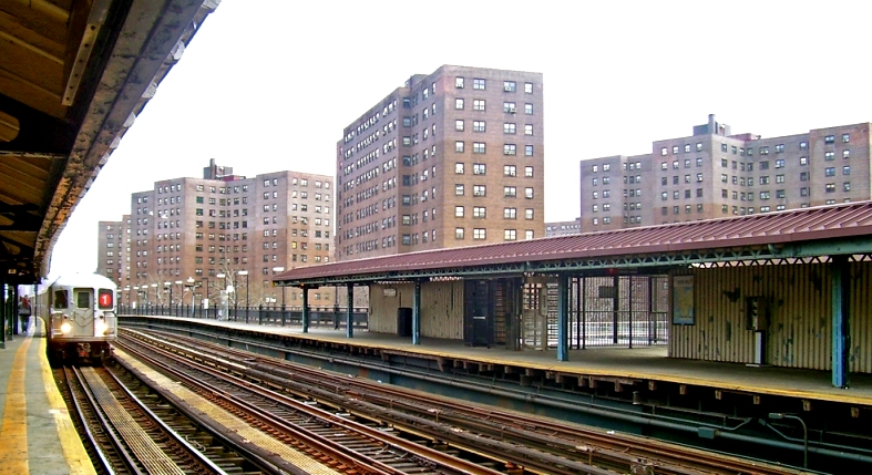 La estación del subway de la Calle 225, en Marble Hill, Manhattan./Daniel Case/Wikipedia